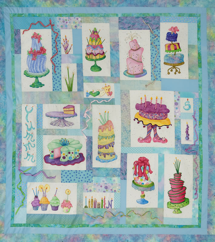Quilting Thread Patterns : With Needle and Thread - Patterns